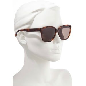 Rebecca Minkoff Polarized Sunglasses Tortoise UV